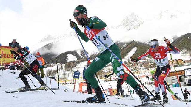 Combinata nordica: l'Italia sfiora il podio nella Team Sprint  in val di Fiemme, vince la Norvegia