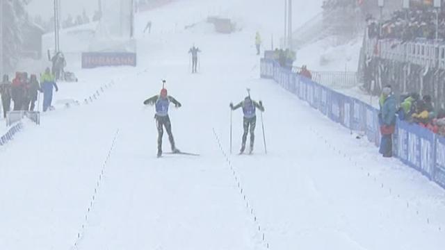 Boe dominates in Oberhof pursuit