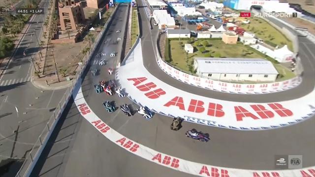 ePrix Marrakech: Accidentadísima salida con toque entre Vergne y Bird
