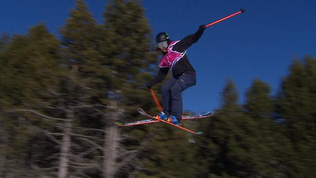 Hoefflin's stylish slopestyle run wins it