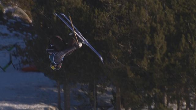 Alexander Hall lights up slopestyle final with great run