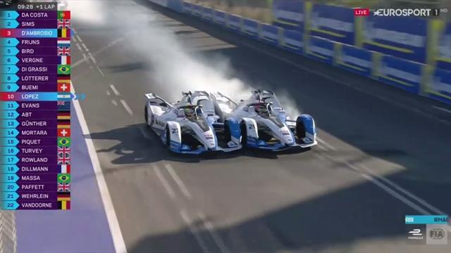 ePrix Marrakech: Tremendo error de los BMW quedándose sin liderato por luchar entre ellos