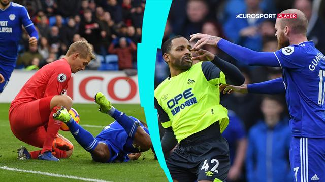 Highlights: Zanka og Lössl holdte målet rent og sikrede Huddersfield et enkelt point