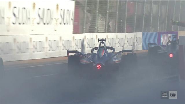 D'Ambrosio celebrates in style on E-Prix victory lap