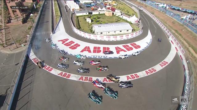 Defending champion Vergne spins off at first corner in Marrakech E-Prix