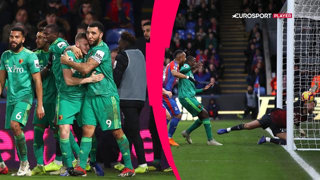 Highlights: Cleverley fyrede de tre point hjem til Watford i udekampen mod Crystal Palace