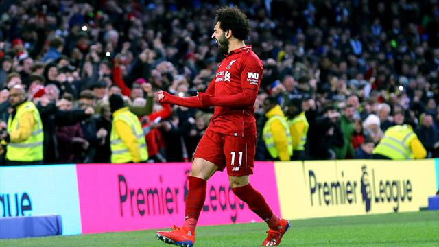 Leaders Liverpool back to winning ways after beating Brighton