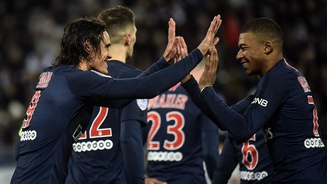 ⚽😱 Descomunal goleada del PSG para vengarse de su verdugo en la Copa (9-0)