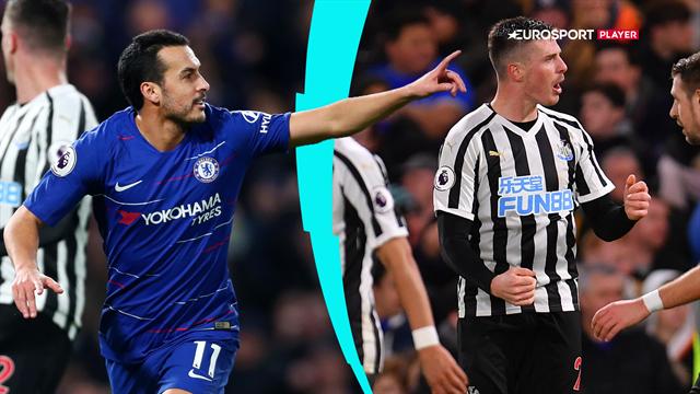 Highlights: Lækkert Pedro-lob sendte Chelsea på sejrskurs