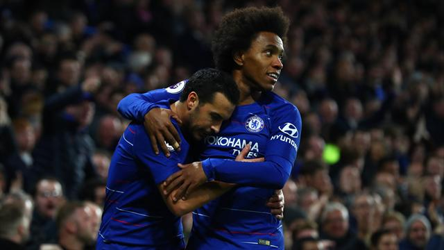 Pedro-Willian: il Chelsea supera 2-1 il Newcastle e consolida il quarto posto