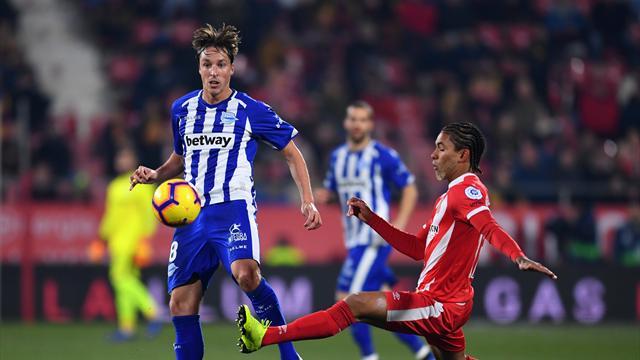 LaLiga, Girona-Alavés: Un punto para seguir soñando con la Champions (1-1)