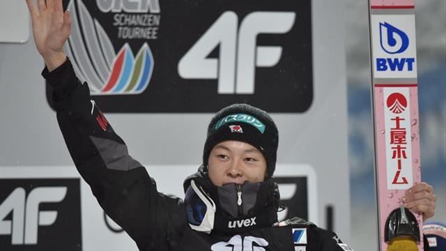 Kobayashi mantiene su racha triunfal en Val di Fiemme