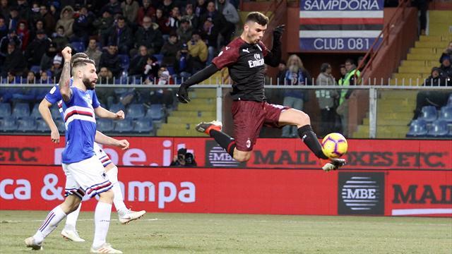 Doppietta di Cutrone, miracoli di Reina: Milan ai quarti, Samp ko ai supplementari