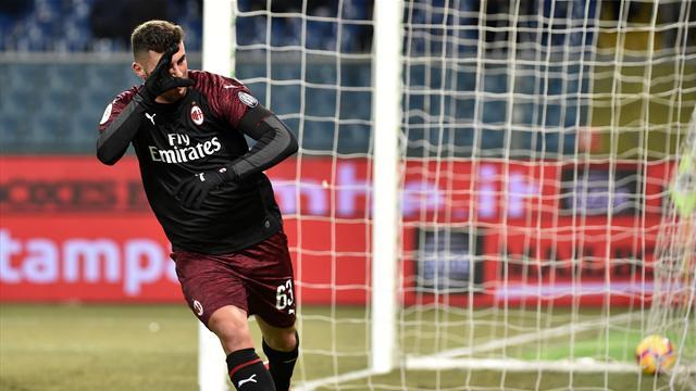 Le pagelle di Sampdoria-Milan 0-2: Cutrone e Reina provvidenziali, Rafael flop