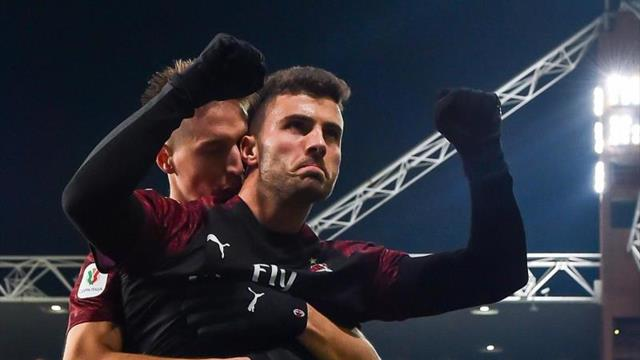 Un monumental Reina y Cutrone meten al Milan en cuartos de la Copa Italia