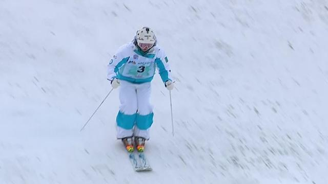 Galysheva takes moguls gold with flawless run
