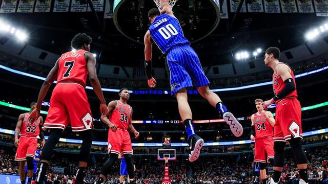 105-103. Gordon y los Magic vuelven a derrotar a los Celtics
