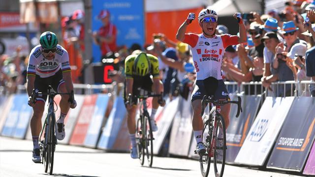 Peter Sagan firma la terza tappa del Tour Down Under 2019