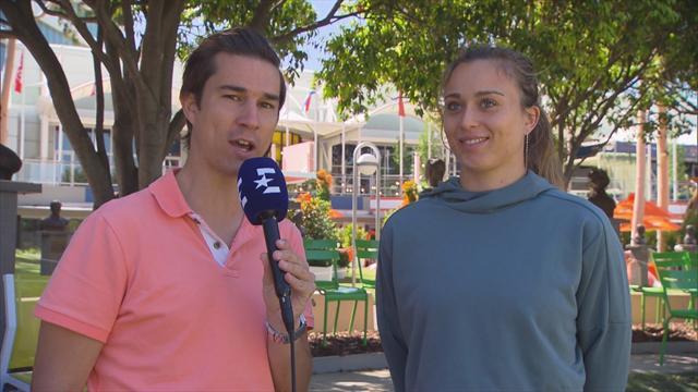 """Open Australia 2019: Badosa, a Eurosport: """"Había soñado con jugar Grand Slam y por fin ha llegado"""""""