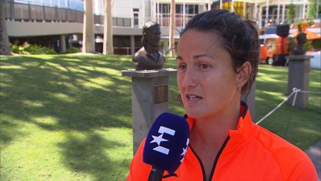 """Open Australia 2019: Arruabarrena: """"Me motiva enfrentarme a Cornet"""""""