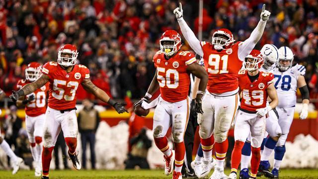 Kansas City et les Rams étouffent Indianapolis et Dallas