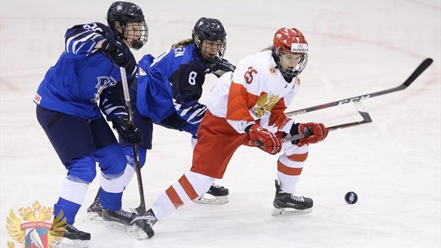Женская сборная Канады выиграла МЧМ, Россия уступила в матче за бронзу