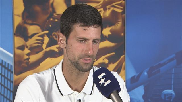 """Djokovic über Murray: """"Hoffe auf ein Wunder"""" (engl.)"""