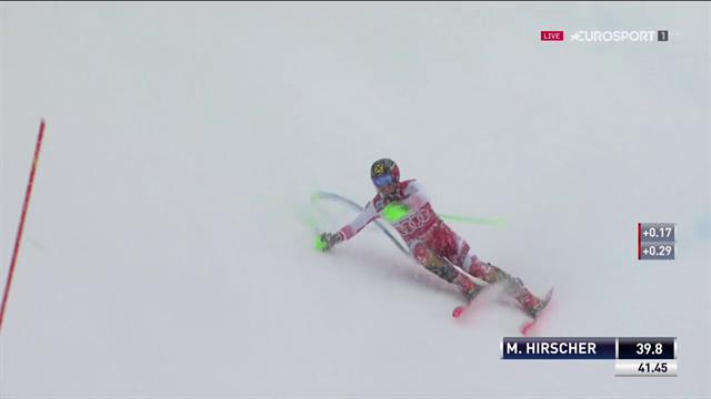 Hirscher sbaglia nel finale, recupera ed è terzo dietro la sorpresa Schwarz e Kristoffersen