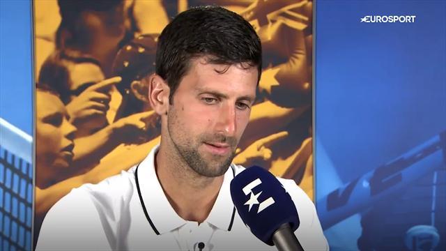 """Djokovic: """"Andy Murray mi mancherà, è un ragazzo che ho sempre ammirato e rispettato"""""""