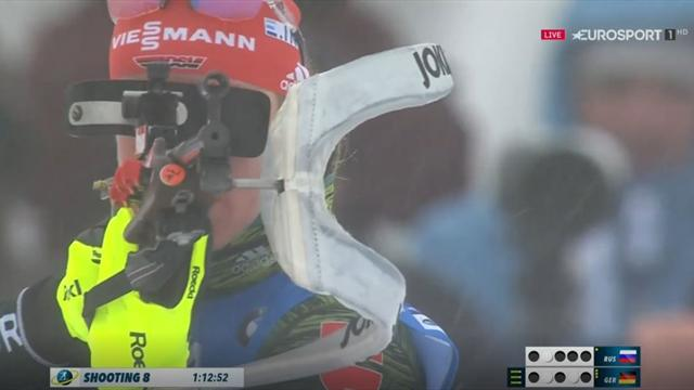 Herrmann vergibt Staffel-Sieg beim letzten Schießen