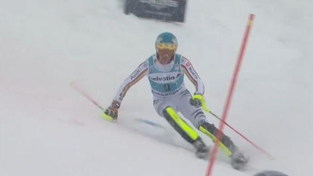 Neureuther mit Aufholjagd im 2. Slalom-Lauf