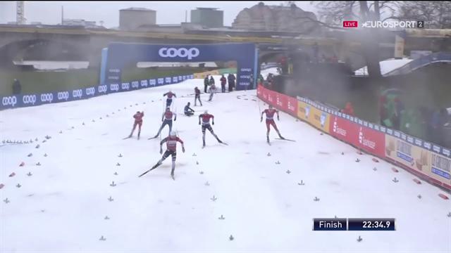Weekend nero per Chicco Pellegrino a Dresda: cade in volata nella Team Sprint