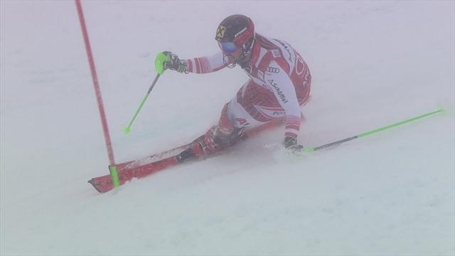 'More exquisite technical skiing' - Hirscher claims a 67th World Cup win