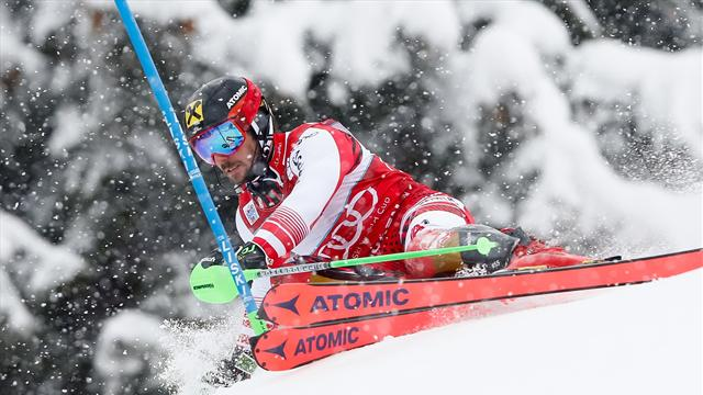 Hirscher sets new record with Adelboden triumph