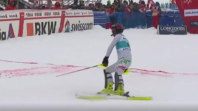 Che bravo Fabian Bacher! È 24esimo nello slalom di Adelboden, sono i primi punti in Coppa del Mondo