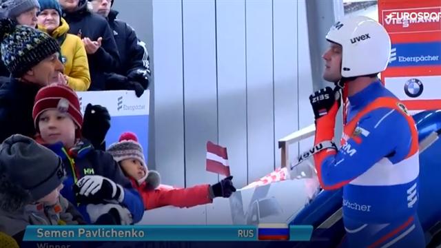 Идеальная попытка Павличенко, которая зафиксировала победный дубль русских на этапе в Латвии