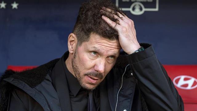 """Simeone: """"Si no fue el mejor partido de la temporada, fue de los mejores"""""""