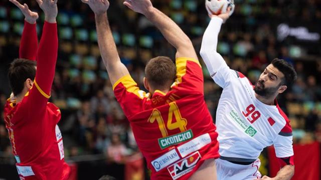 28-23. Macedonia también sufre para doblegar a Baréin