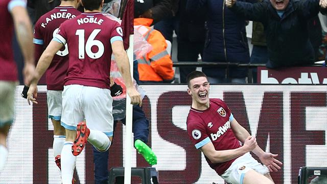 Declan Rice urged to try his luck in front of goal more often