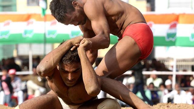 La lucha tradicional busca sobrevivir en la India