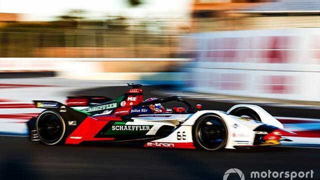 Nico Muller e l'Audi dominano i test della Formula E a Marrkesh