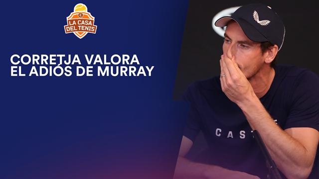 Open Australia 2019, Entrevista a Álex Corretja sobre el adiós de Murray