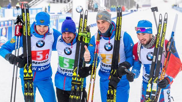 7 медалей в Антерсельве-2016 и еще 4 могучих этапа Кубка мира от сборной России