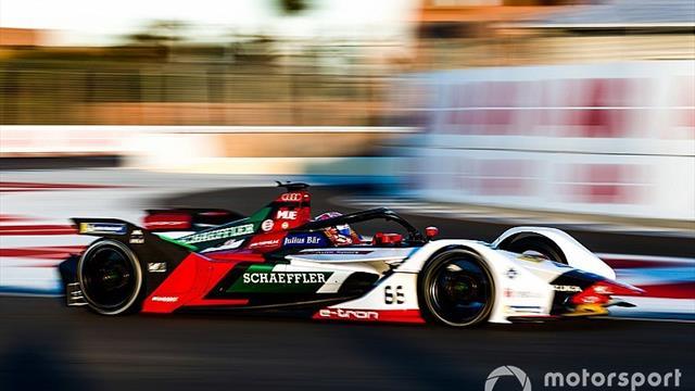 Muller lidera con su Audi el test de Fórmula E de Marrakech