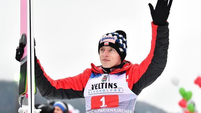 Kubacki ganó en Val di Fiemme, final de la racha victoriosa de Kobayashi