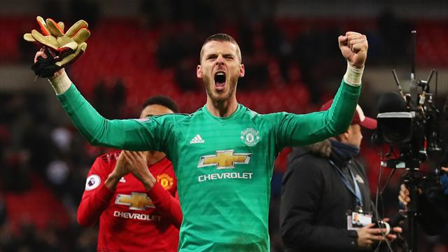 'De Gea is not human!' - Fans rave over goalkeeper's incredible performance