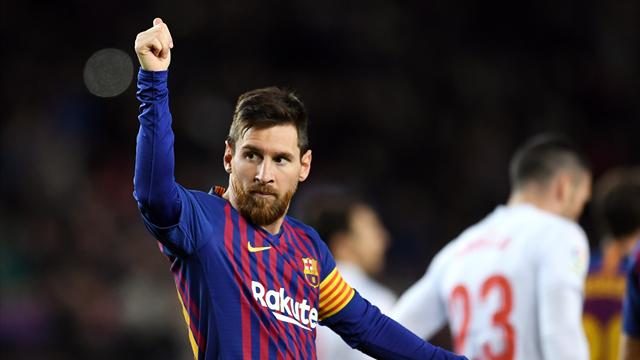 Messi makes history with 400th La Liga goal as Barca crush Eibar