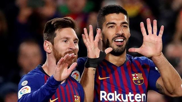 LaLiga, Barcelona-Éibar: Una delantera para dominarlos a todos (3-0)