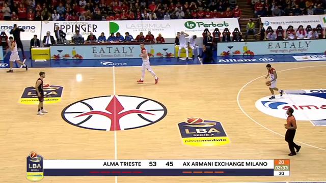 Highlights: Alma Trieste-AX Armani Exchange Milano 73-77