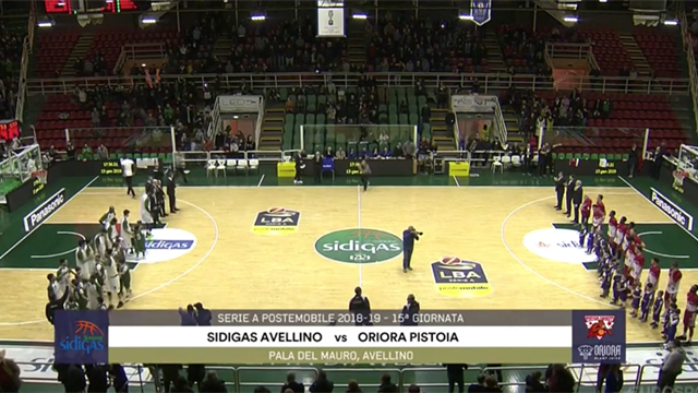 Highlights: Sidigas Avellino-Oriora Pistoia 82-78